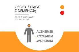"""logo kampanii """"Alzheimer – rozumiem – wspieram"""""""